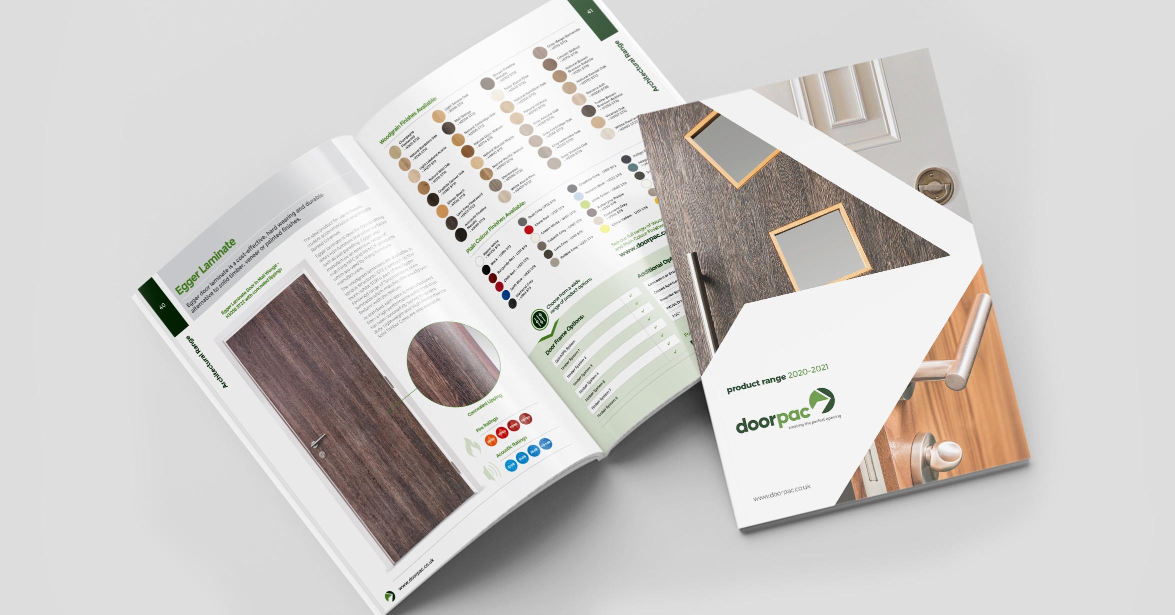 Catalogue Designers - Doorpac